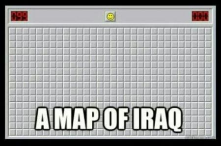 A map of Iraq at PMSLweb.com