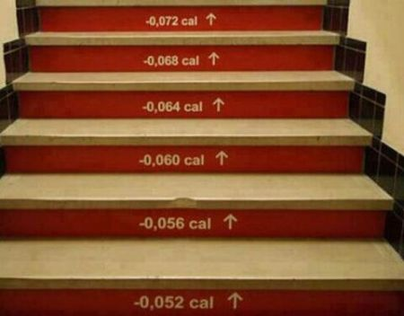 Calorie count stairs at PMSLweb.com