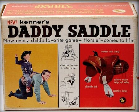 Daddy saddle at PMSLweb.com