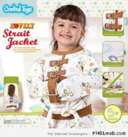 Strait jacket for kids at PMSLweb.com