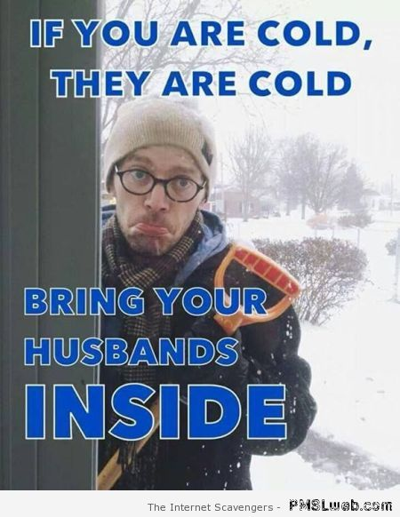 Bring your husband's inside – Tgif pictures at PMSLweb.com
