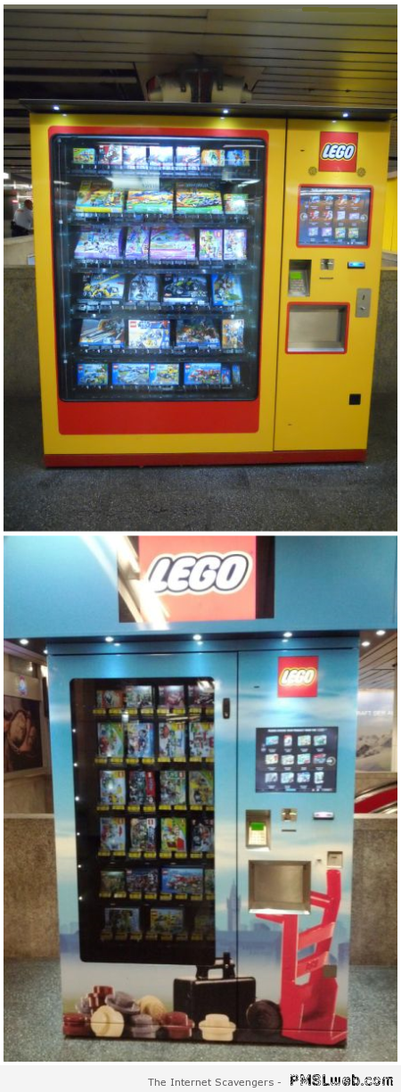 Lego – Weird Vending machines at PMSLweb.com