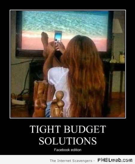 Tight budget solutions demotivational at PMSLweb.com