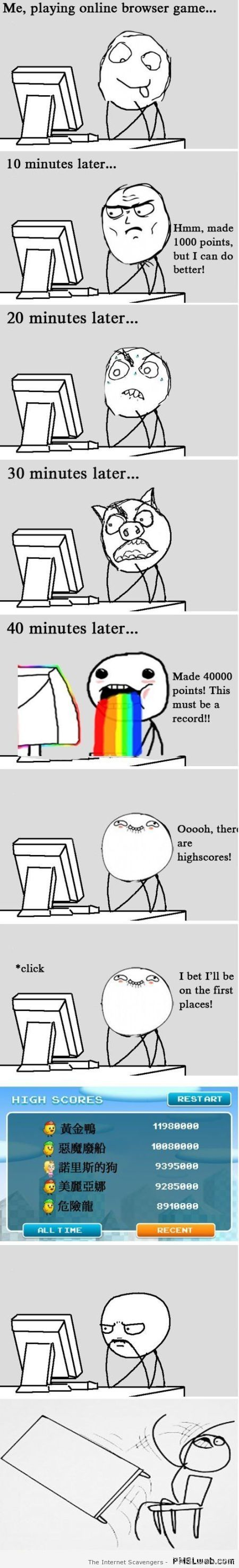 High scores meme  - Funny Hump day at PMSLweb.com
