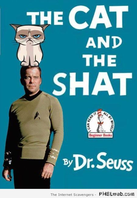 The cat and the shat fake book cover at PMSLweb.com