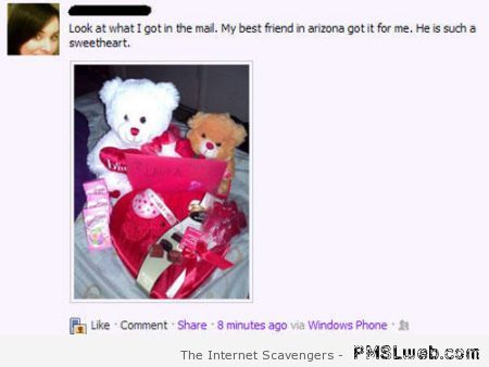 Friendzone gifts on facebook at PMSLweb.com
