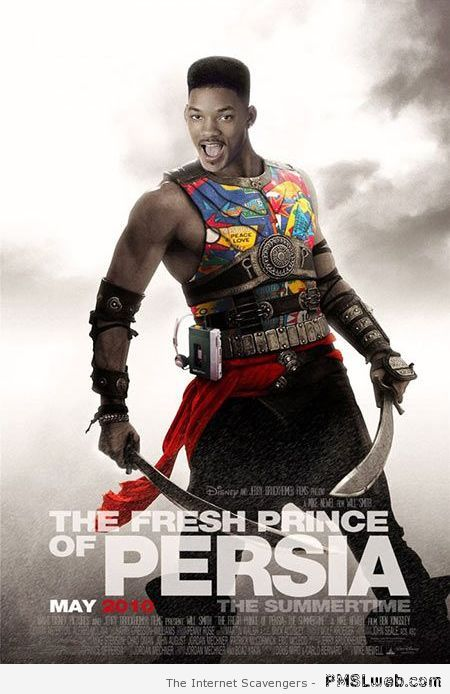 The fresh prince of Persia at PMSLweb.com