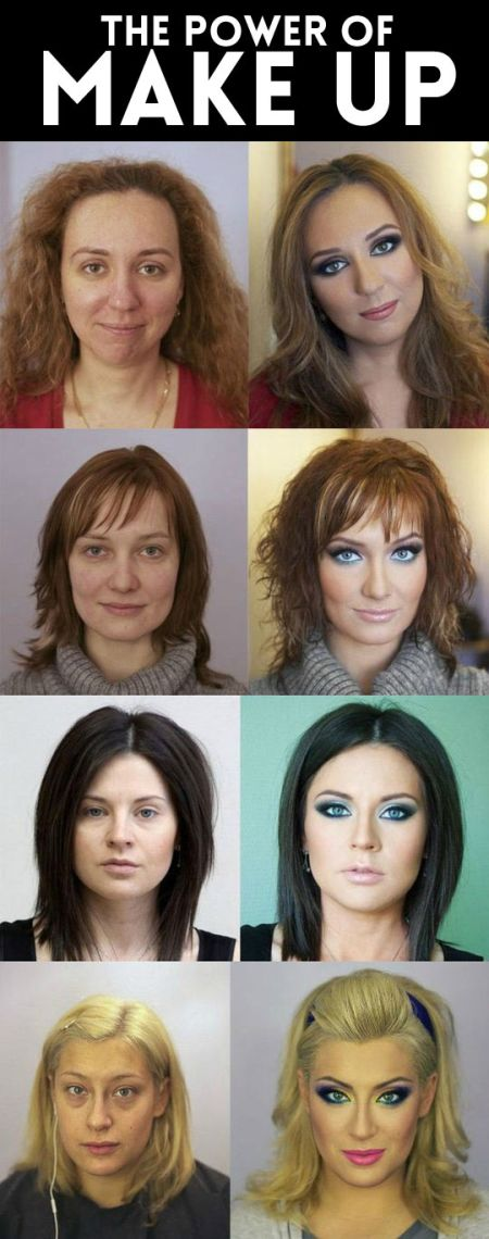 The power of makeup on PMSLweb.com