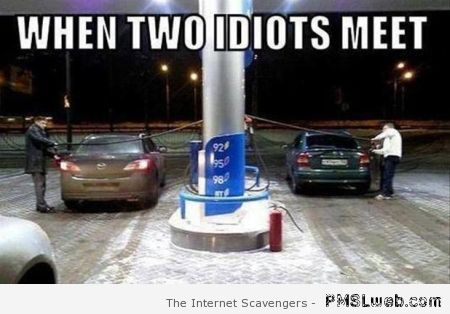 When two idiots meet meme at PMSLweb.com