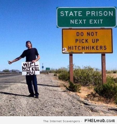 Hitchhiker humor at PMSLweb.com