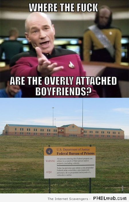 Where are the overly attached boyfriends at PMSLweb.com