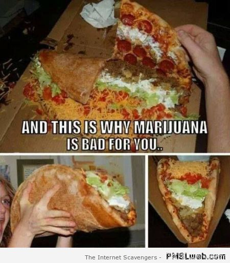 Why marijuana is bad for you meme at PMSLweb.com