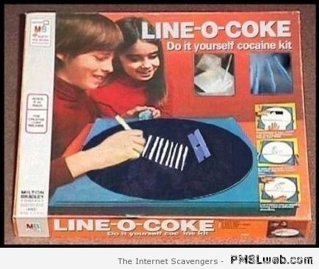Line-O-coke board game – Procrastination humor at PMSLweb.com