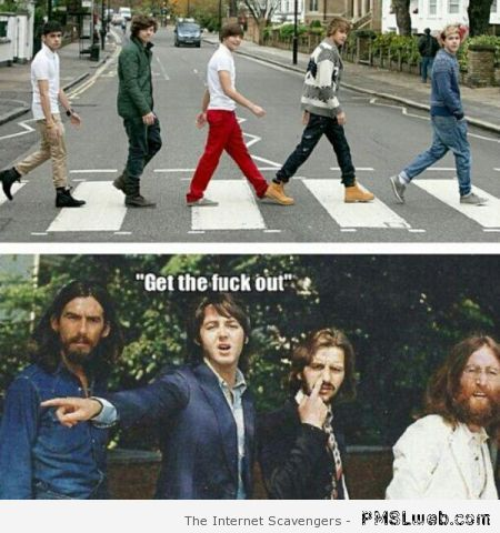 Beatles and one direction meme – Tgif laughter at PMSLweb.com
