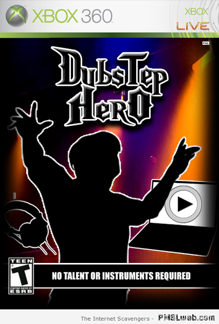 Dubstep video game – Procrastination humor at PMSLweb.com
