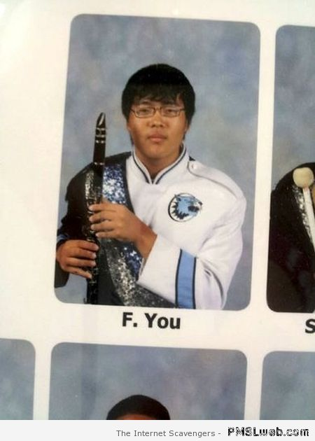 F*ck you year book – Lol picture collection at PMSLweb.com