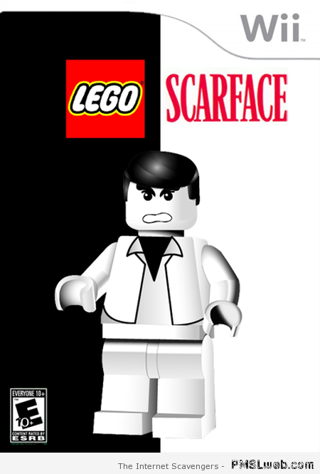 Wii lego scarface at PMSLweb.com
