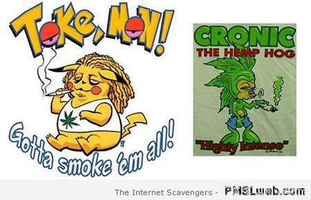 Tokemon and Cronic – Procrastination humor at PMSLweb.com