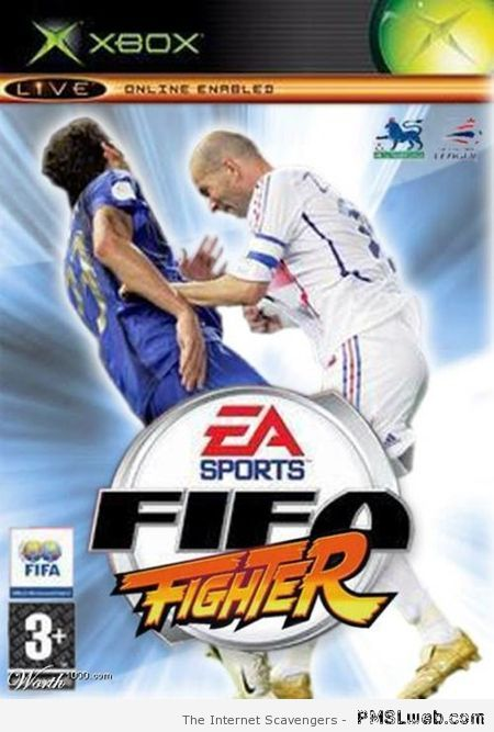 FIFA fighter video game at PMSLweb.com