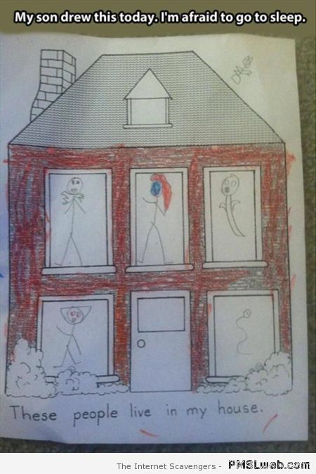 Funny kid's drawing – Daily humor at PMSLweb.com