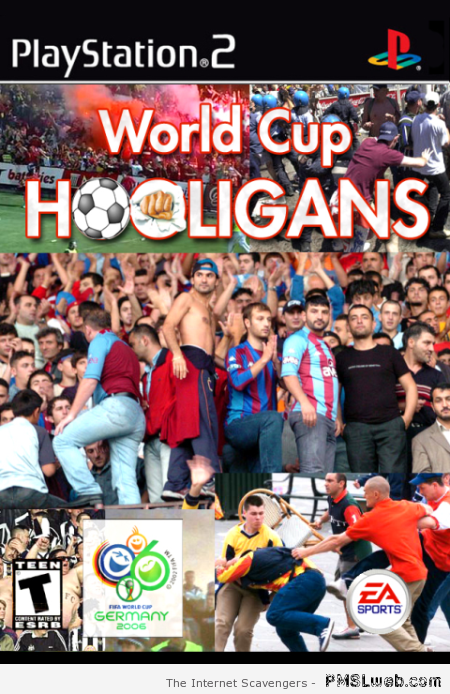 World cup hooligans video game at PMSLweb.com