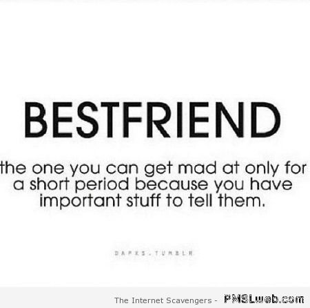 Best friend funny definition at PMSLweb.com