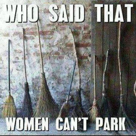 Who said that women can't park – Hump Day goodies at PMSLweb.com