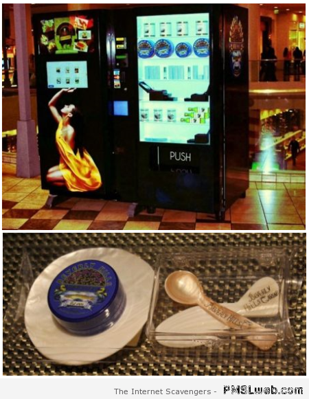 Caviar – Weird Vending machines at PMSLweb.com