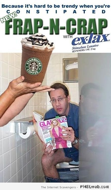 Frap n' crap coffee – Sunday Rofl at PMSLweb.com