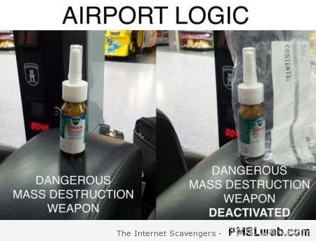 Airport logic humor – Sunday Rofl at PMSLweb.com
