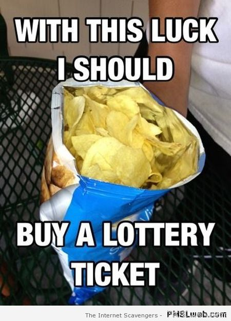 Full bag of chips meme at PMSLweb.com