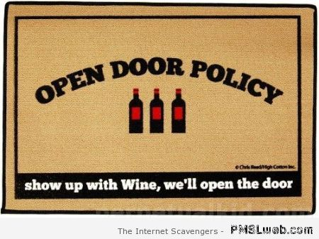 Open door policy – Hump day Lmao at PMSLweb.com
