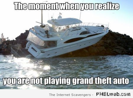 You are not playing grand theft auto meme at PMSLweb.com