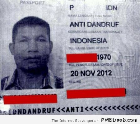 Indonesian named anti dandruff at PMSLweb.com
