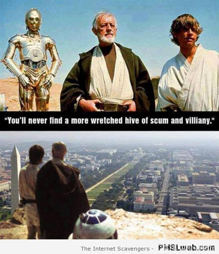 Star Wars and government humor at PMSLweb.com