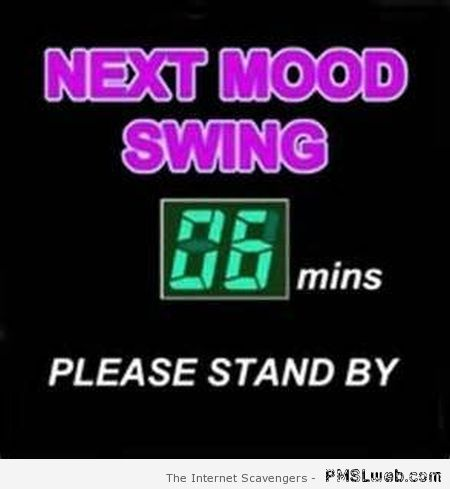 Mood swing humor at PMSLweb.com