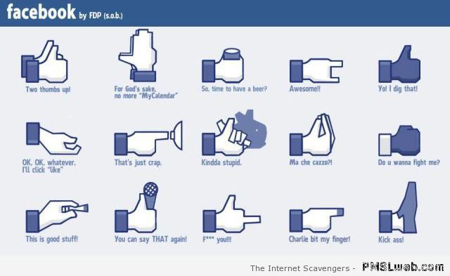 New facebook signs funny at PMSLweb.com