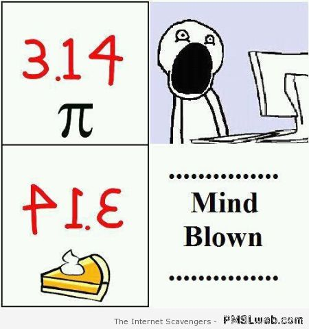 Pi mind blow at PMSLweb.com