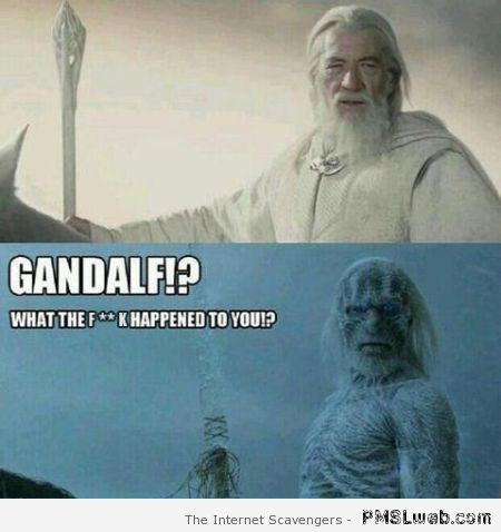 Gandalf meme at PMSLweb.com