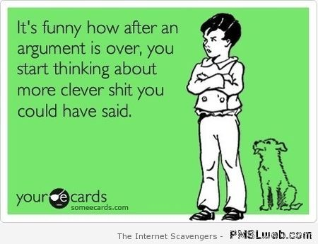 When an argument is over ecard at PMSLweb.com