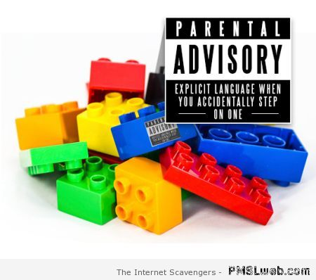 Lego parental advisory – Hump day funny pics at PMSLweb.com