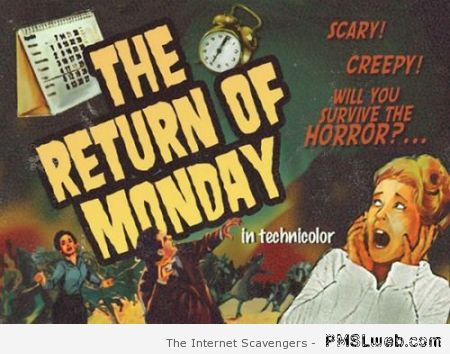 The return of Monday at PMSLweb.com