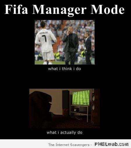 Fifa manager mode funny at PMSLweb.com