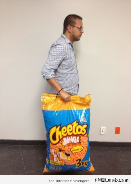 3 Kg of cheetos at PMSLweb.com