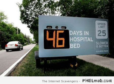 Speed prevention - Funny Monday pictures at PMSLweb.com