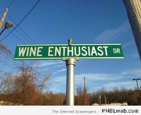 Wine enthusiast drive – Tuesday fun at PMSLweb.com