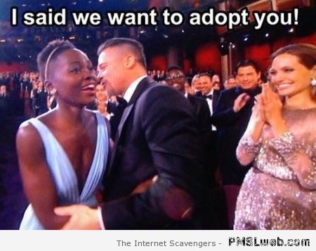 Brangelina adoption humor at PMSLweb.com