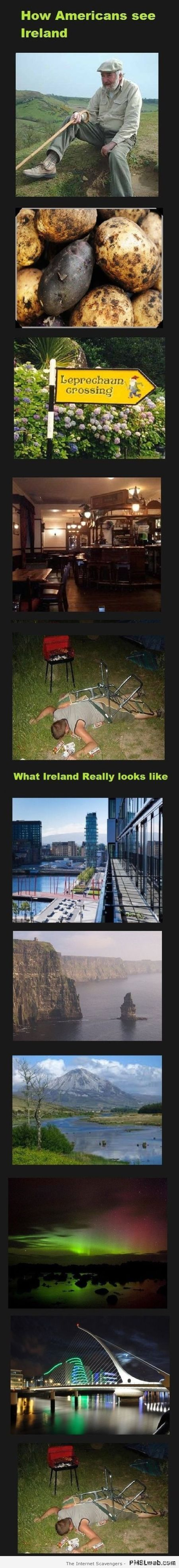 How Americans see Ireland – Monday ROFL at PMSLweb.com