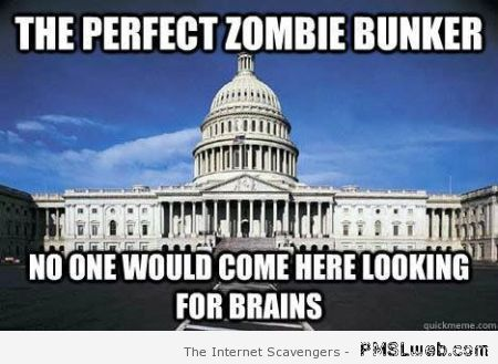 The perfect zombie bunker meme at PMSLweb.com