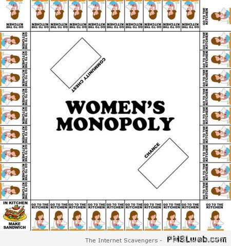 Women's monopoly at PMSLweb.com